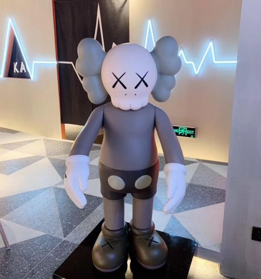 Custom Life Size Kaws Toys Color Vinyl for Home Furnishing Articles