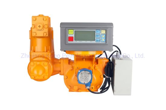 Electronic Digital Positive Displacement Flow Meter