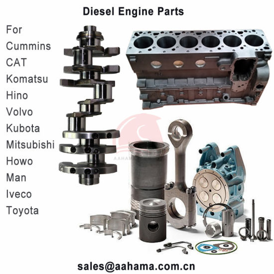 Diesel Engine Parts for Truck and Construction Machine Piston Liner Kit