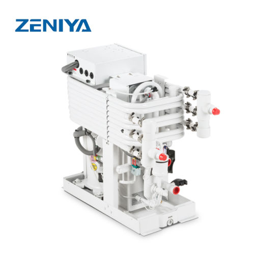 China Small Sea Water Cooling Chiller for Yacht Boat Marine
