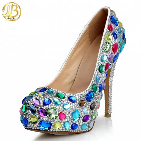 287960c03e International Style Multicolor Glitter High Heel Womens Shoes Sale pictures  & photos