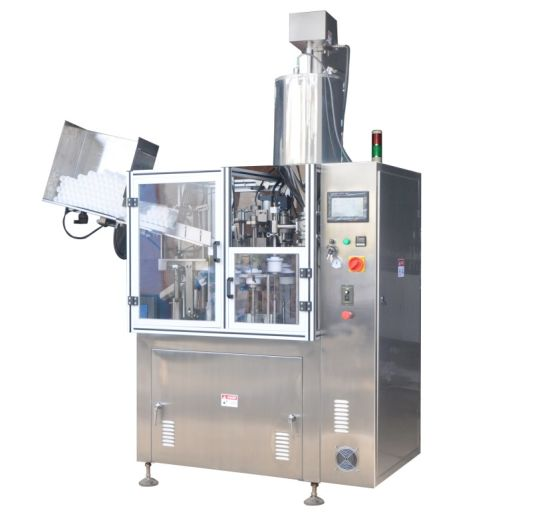 Semi-Automatic Plastic Composite Soft Tube Filling Sealing Packing Machine