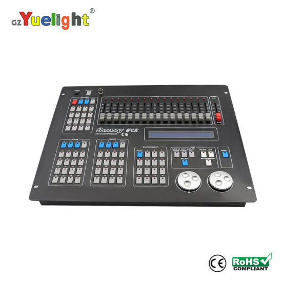 Wholesale Stage Equipment Sunny 512 Computer Console for LED Effect Lights
