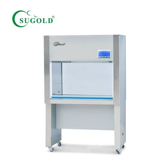Single People Single Side Vertical Air Laminar Flow Cabinet