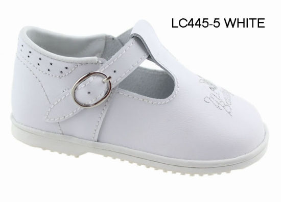 White Baptism Christening Baby Toddler Communion Wedding Party Brunch Shoes