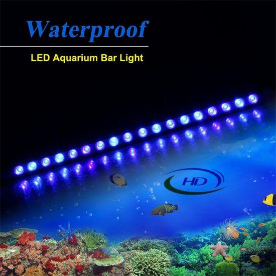 Hot Selling 550 850 1150mm Long Waterproof Led Aquarium Light Bar For Marine Freshwater Organism