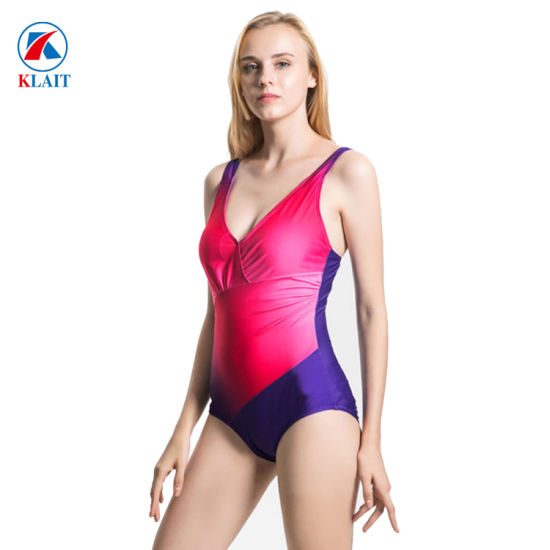 b707e8ce38e9 China Fashion Sexy High Cut One Piece Nylon Ladies Bikini - China ...