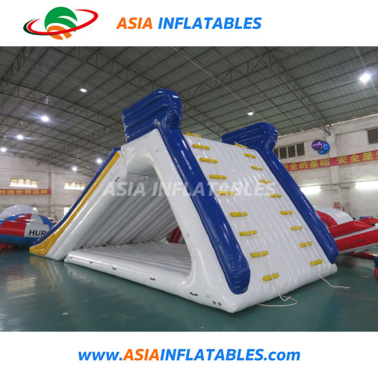 China New Design Kids Inflatable Climbing Water Slide for