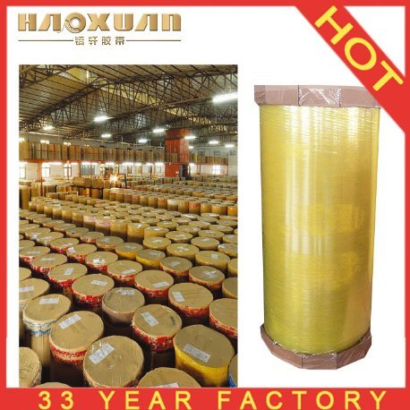 China Factory Price Super Clear Cello BOPP OPP Packing Adhesive Tape Jumbo Rolls pictures & photos