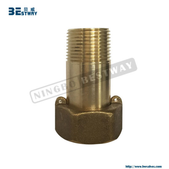 Lead Free Eco Brass Water Meter Tailpieces Fittings