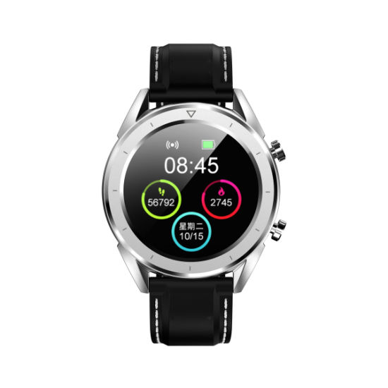 "New Arrival Heart Rate Smart Bracelet Multi-Sports Mode GPS Tracker 1.54"" Big Round Color Screen Bluetooth Watch Men′s Bluetooth Watch pictures & photos"