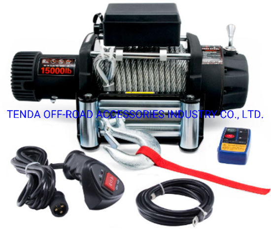 15000lbs 4X4 Electric Winch for 4WD
