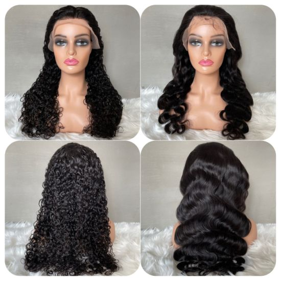 12A Factory Price Wig 180% Density Hair Brazilian Virgin Human Hair Lace Wigs pictures & photos