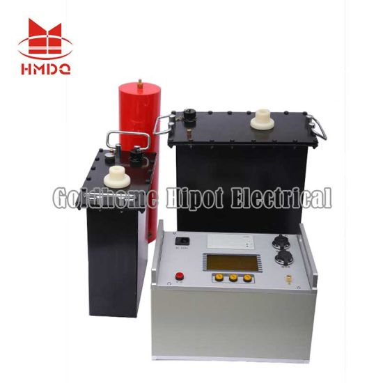 0.1Hz 80kv High Voltage Vlf Very Low Frequency AC Insulation Hipot Tester for Cable/ Hv Measuring Instrument/ High Voltage Electrical Test Equipment