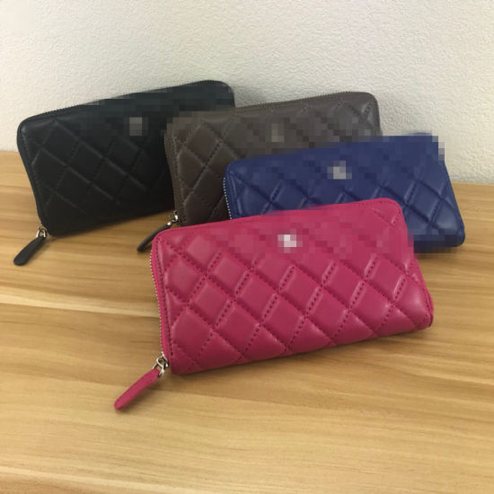 Genuine Leather Women Purse for Sale with The Four Colors