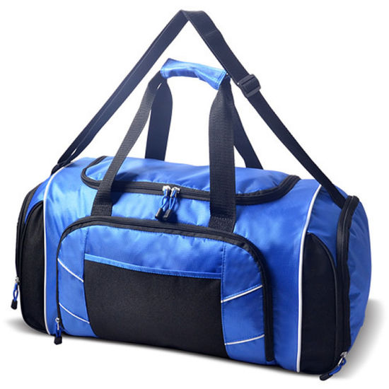 Wholesale Custom Logo Weekend Duffel Gym Organize Fitness Duffle Bag pictures & photos