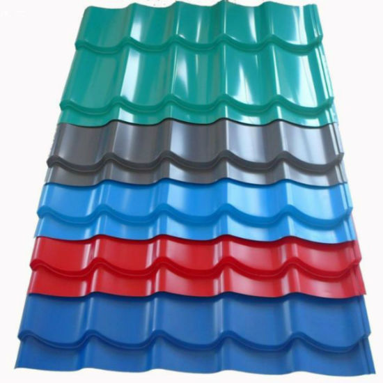 PPGI Colorful Roofing Steel Corrugated Roof Sheets