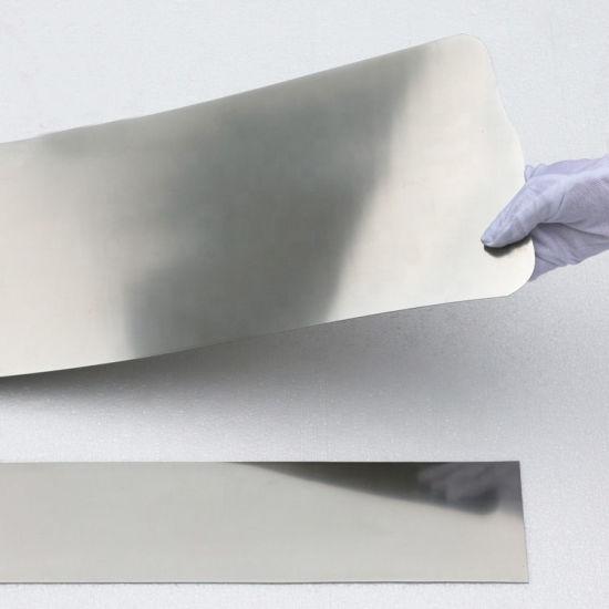 China Astmf2063 0 12mm Shape Memory Alloy SMA Superelastic