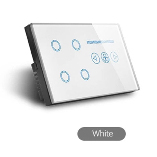 86*146 4 Gang WiFi Touch Switch LED Dimmer Switch