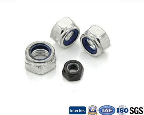DIN985, DIN982 Hex Nylon Nut, Nylon Lock Nut M6-M20