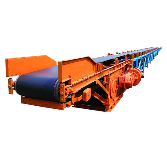 2019 Hot Sales Long-Distance Curved Conveyors for Material Handling Equipment