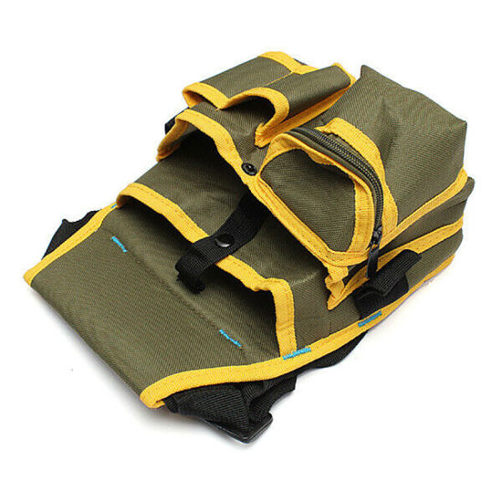 Electrician Waist Pocket Belt Tool Pouch Bag Canvas Hardware Toolkit Holder Bag