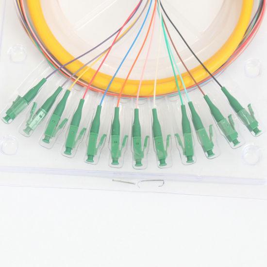 12-Core Bundled Pigtail LC APC-12 Core Single Mode Optical Fibre Cable
