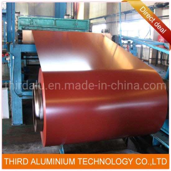 Window Blinds Aluminum Coil Stock Colors for Roof/Color Roll Coated Aluminum Coil/Sheet/Painted Metal Sheet
