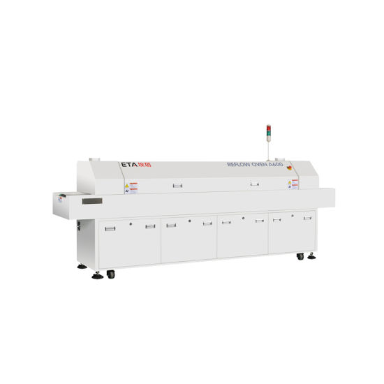 Large Size Reflow Oven Solder with 8 Heating Zones (E8)