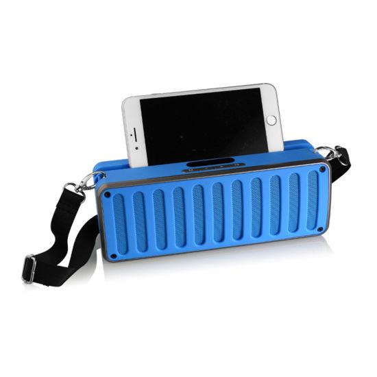 Hot Selling Portable Phone Bracket Holder Wireless Bluetooth Speaker X11s with USB TF Card SD Card FM Radio