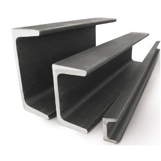 Hot Rolled Mild Steel U Channel Ss400, S235jr, Q235 Gi Steel U Channel Sizes