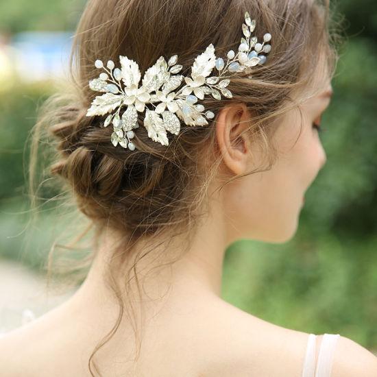 Beautiful Elegant Design Alloy Hairpin for Wedding