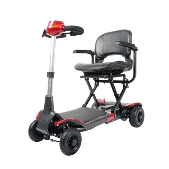 New Design! Remote Control Folding Electric Handicap Mobility Scooter