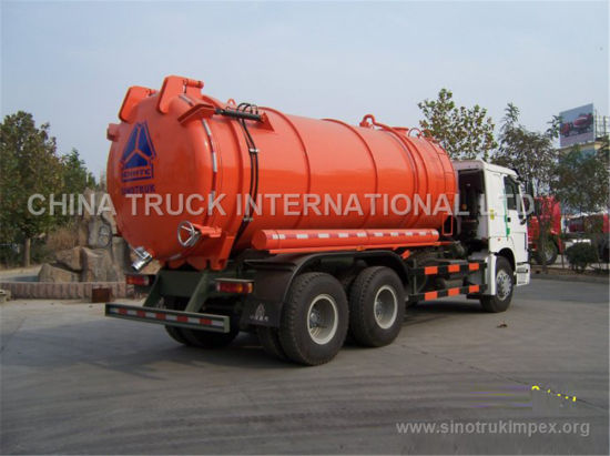18m3 Septic Pump Trucks/Vacuum Truck for Sale From China