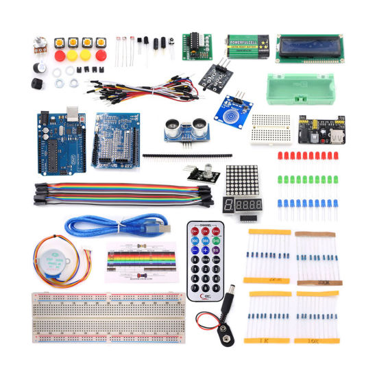 Factory Outlet Super Starter Kit for Arduino with Tutorials