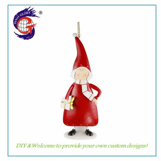 Wholesale Custom Metal Christmas Ornaments Home Decoration