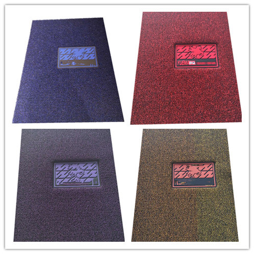 SGS/ISO9001 Approved Environmental Noodle Pile PVC Coil Cushion Car Flooring Mat with Spike/Nail Backing