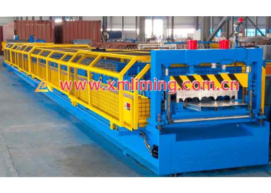 Xiamen Liming Yx53-200-600 Roll Forming Machine for Decking Profile