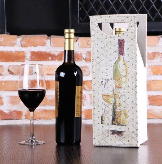 Custom PU Leather Fashion Wine Gift Box for Single Bottle pictures & photos