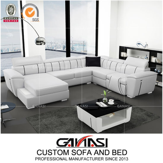 Living Room Sectional Modern Leather Couch Chairs for CEO Office Sofas