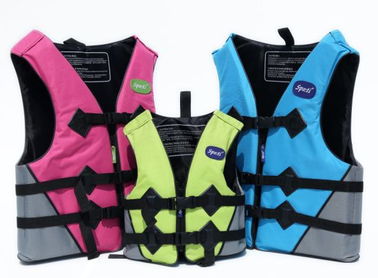 Oxford Cloth Adult Children Life Jacket/Swimsuit/Safety Vest
