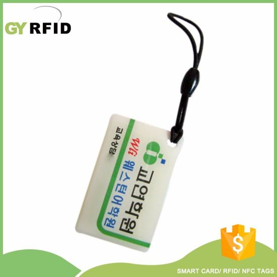 RFID Key Cards MIFARE Keys for Clocking System (KEE4226) pictures & photos
