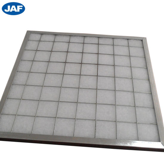 Primary Panel Washable Industrial Air Filter with Synthetic Fiber