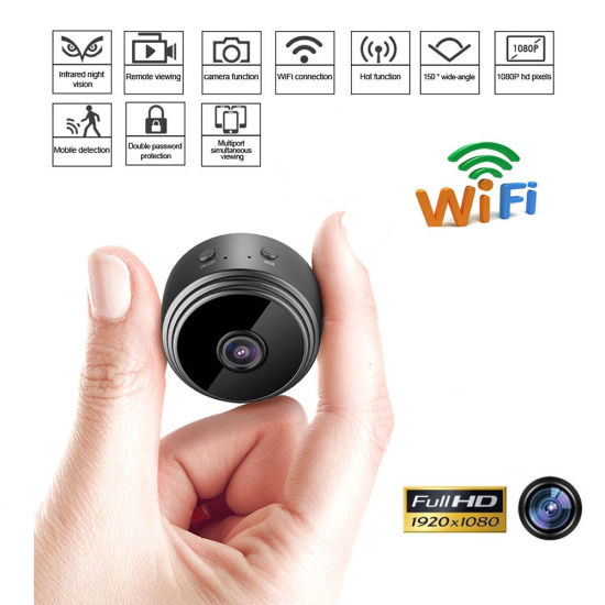 HD1080p A9 Motion Detection Mini WiFi DV Surveliance Camera with Hidden Infrared Light Camcorder