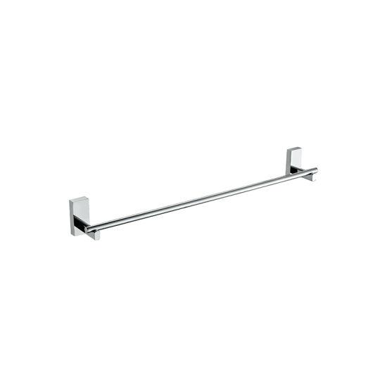 Easy Install Single Brass Chrome Plate Bathroom Towel Bar