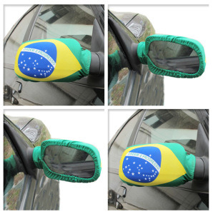 Wholesale High Quality Custom National Flag Printing Car Wing Mirror Cover pictures & photos