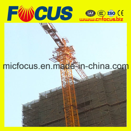Reliable&Safety Tower Crane Qtz160 with 10tons Max. Load pictures & photos