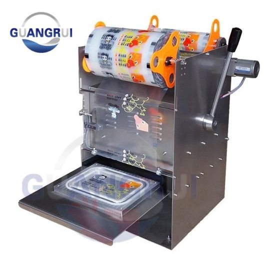Small Box Tray Cup Container Packaging Machinery for Food Factory pictures & photos