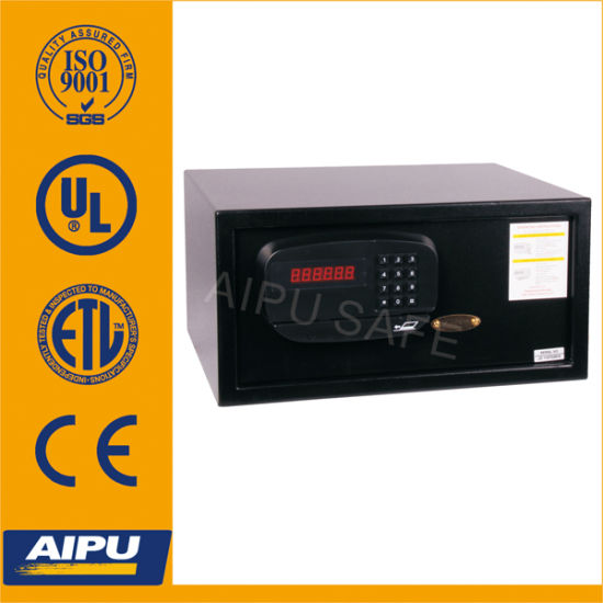 Aipu Credit Card Hotel Safes with Electronic Lock (D-23EF- BLK) pictures & photos