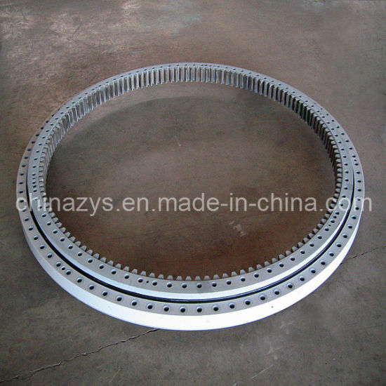 Zys Special Yaw and Pitch Bearing Double Row Four Contact Ball Bearing for Wind Turbine Generators pictures & photos